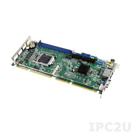 PCE-5129G2-00A1E Процессорная плата PICMG 1.3, сокет LGA1151 для Intel 6th gen Core i7/i5/i3 с DDR4 2133/1866МГц SO-DIMM, VGA, DVI, DP, 2xGbE LAN, 2xCOM, 2xUSB 3.0, 7xUSB 2.0, 5xSATA III, LPT, GPIO, 1xPCIe x16, 1xPCIe x4, 4xPCI