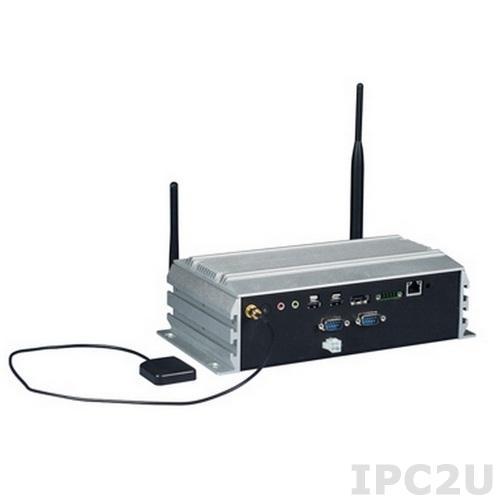 ARK-VH200A-D5A2E Компактный компьютер с Intel Atom D510 1.66ГГц, DDR2, VGA, LVDS, 2xGbE, 2xCOM, 4xUSB, GPS, 4 канала видеоввода, CompactFlash, слот SIM, -20?60C, EN50155, IP40