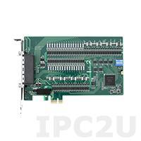 PCIE-1758DIO-AE Плата ввода-вывода PCI Express, 64DI/64DO