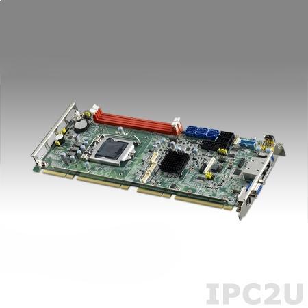PCE-5128G2-00A1E Процессорная плата, сокет LGA1150 для Intel Core i7/i5/i3/Pentium/Celeron с VIntel Q87/DDR3/Dual GbE LAN/2xCOM/6xSATA 3.0/9xUSB 2.0/3xUSB 3.0