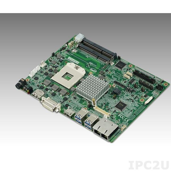 "MIO-9290F-00A1E Процессорная плата формата 5.25"" с сокетом rPGA988 для Intel 3rd Core i7/i5/i3, DDR3/DDR3L, DP, HDMI, DVI-I, 48-bit LVDS, 2GbE, 4 USB3.0, 2 Mini PCIe, mSATA, iManager, MIOe"