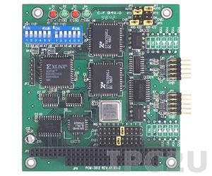 PCM-3612-BE PC/104 адаптер 2xRS-422/485 разъем DB9 Male без изоляции