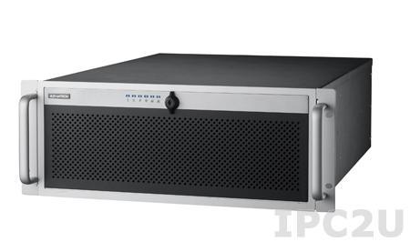 """HPC-7442MB-00XE 19"""" корпус 4U, для ATX/EATX плат, отсеки 4x3.25""""/2.5"""" с горячей заменой, 1xSlim ODD, 1x3.5"""" внутренний, вентиляторы"""