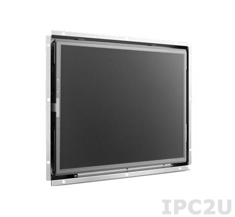 """IDS-3115P-K2XGA1E 15"""" LCD 1024 x 768 Open Frame дисплей, SVGA, 1200нит, емкостный сенсорный экран, VGA, DVI, вход питания 12В DC, экранное меню"""