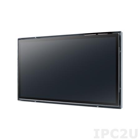 """IDS31-156WP30DVA1E 15.6"""" LCD 1366 x 768 Open Frame дисплей, 300нит, VGA, DVI-D, вход питания 12В DC, экранное меню, проекционно-емкостной сенсорный экран (RS-232/USB)"""
