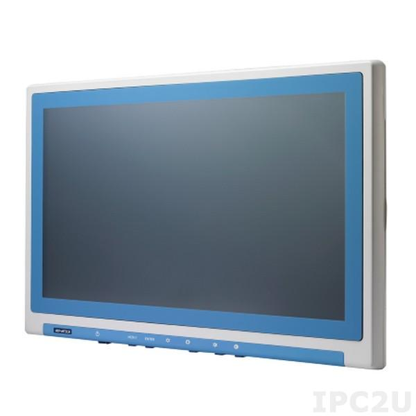 "PDC-W210-D10-AGE 21.5"" LCD монитор LED, Full HD 1920 x 1080, 250 нит, IP54 со всех сторон, разъемы HDMI/DP/DVI/VGA, Audio, питание 12В DC-in, адаптер питания AC-DC"