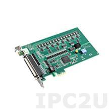 PCIE-1750U-AE Плата ввода-вывода PCI Express, 16DI/16DO