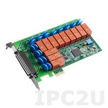PCIE-1765-AE Плата ввода-вывода PCI Express, 12 реле 2A@30VDC