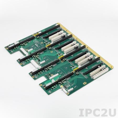PCE-5B16Q-02A1E Объединительная плата PICMG 1.3, 16 слотов, 4 сегмента: 1xPICMG 1.3, 1xPCIe x16, 2xPCI