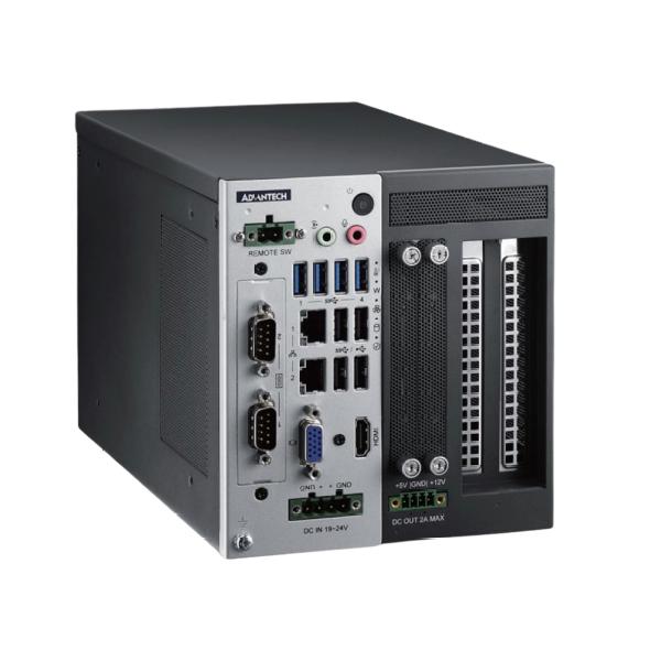 "IPC-220-00A1/H110/2xPCIe Многослотовый встраиваемый компьютер, процессоры Intel 6 и 7 поколения, Intel H110, 2xDDR4 SO-DIMM, HDMI, VGA, 2xCOM, 4xUSB 2.0, 4xUSB 3.0, 2x2.5"", 1xPCI-E x16, 1xPCI-E x4, audio вых., mic вход, 19-24VDC вход, 12/5VDC выход, раб. t от 0 до 45 C"