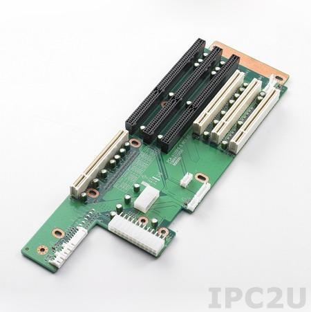 PCA-6105P3-5A1E Объединительная плата PICMG, 6 слотов с 1xPICMG/2xISA/3xPCI, до 12В