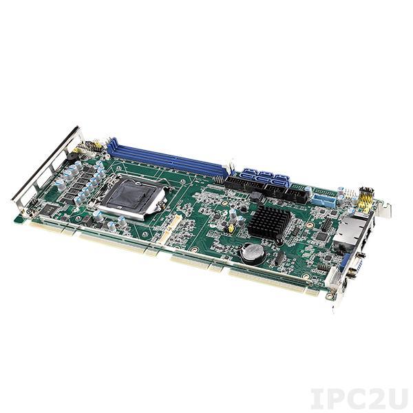 PCE-5031G2 (00A1) Процессорная плата PICMG 1.3, разъем LGA1151 для Intel Core i7/i5/i3/Pentium/Celeron, Intel H310, DDR4, CRT/DP/DVI/VGA, 2xGbE LAN, 7xUSB 2.0, 3xUSB 3.1, 2xCOM, LPT, PS/2, 4xSATA