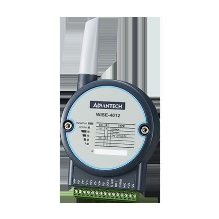 WISE-4012-AE Беспроводной модуль ввода-вывода, 2.4ГГц IEEE 802.11b/g/n, 4xUniversal Input, 2xDO, до 44мВт (16.45 dBm)