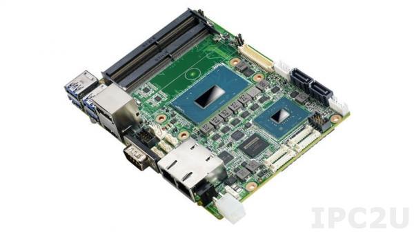 "MIO-5393RE6C-U8A1 Процессорная плата формата 3.5"" с Intel Xeon E-2276ME 2.8ГГц, чипсет Intel CM246, DDR4, LVDS, HDMI, DP, 2xGbE LAN, 2xCOM, 1xCAN, 4xUSB 3.1, 2xUSB 2.0, SMBus, I2C, M.2 B-Key, M.2 E-Key"