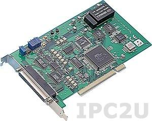 PCI-1715U-AE Плата ввода Universal PCI, 32SE/16D AI