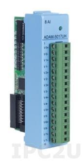 ADAM-E5017UH-AE 8-канальный высокоскоростной модуль аналогового ввода, EtherCAT