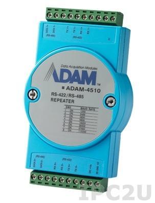 ADAM-4510-EE Повторитель RS-422/485, без изоляции, -10...+70С