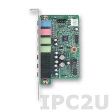 PCA-AUDIO-HDA1E HD Аудиоадаптер расширения для процессорных плат ISBF, RoHS