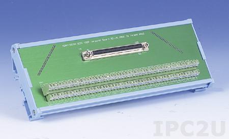 ADAM-39100-BE Плата клеммников, SCSI-100, монтаж на DIN рейку, до 50В