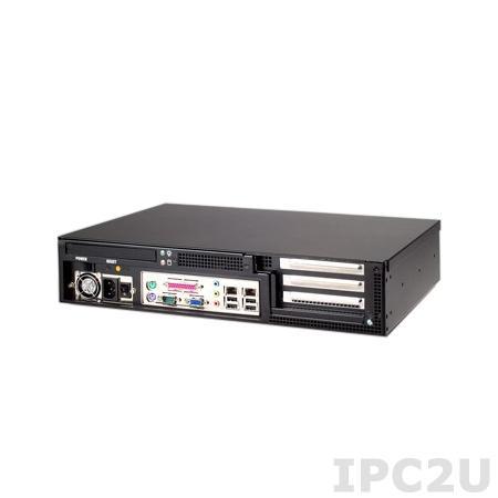 "IPC-603MB-35BE 19"" корпус 2U, 3 слота, отсеки 1x5.25"" Slim/1x3.5"", источник питания 350Вт"