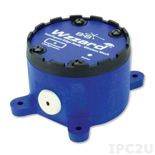 WSD1XVO Беспроводной датчик ускорения(вибрации), встроенный акселерометр, SmartMesh 802.15.4e, Bluetooth, встроенная антенна