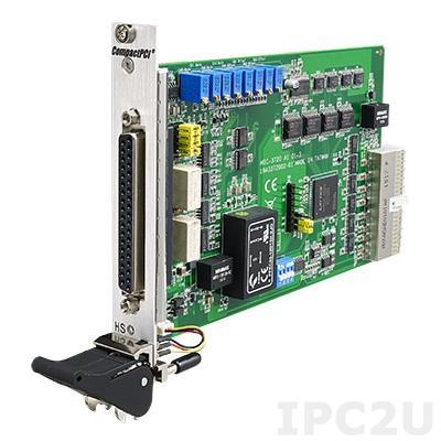 MIC-3720-AE Многофункциональная плата 3U cPCI, 16 бит, 4 каналов аналогового вывода