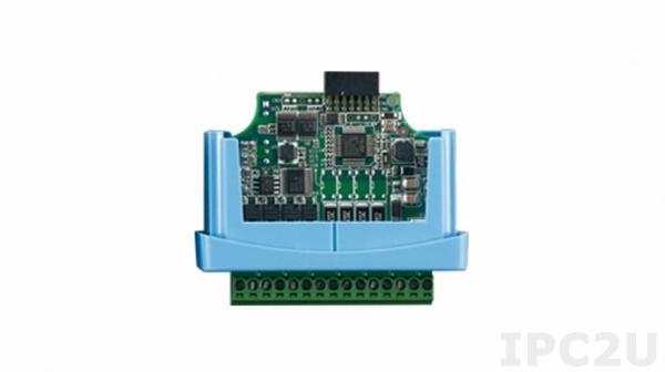 WISE-S251-A Модуль ввода-вывода, 6 каналов дискретного ввода, 1xRS-485, для модулей ввода-вывода WISE-4220