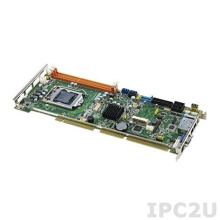 PCA-6028G2-00A1E Процессорная плата, разъем LGA1150 для Intel Core i7/i5/i3/Pentium, DDR3, VGA/DVI, 2xGB LAN, 2xCOM, 2xUSB 3.0, 8xUSB 2.0, GPIO, 1 x SATA2.0, 2 x SATA3.0, 1 x mSATA