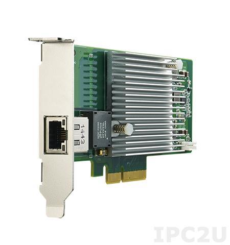PCIE-2221NP-01A1E Сетевой адаптер 10G Ethernet, 1 порт RJ45, PCI Express x4 gen. 3, контроллер Intel X550-AT2