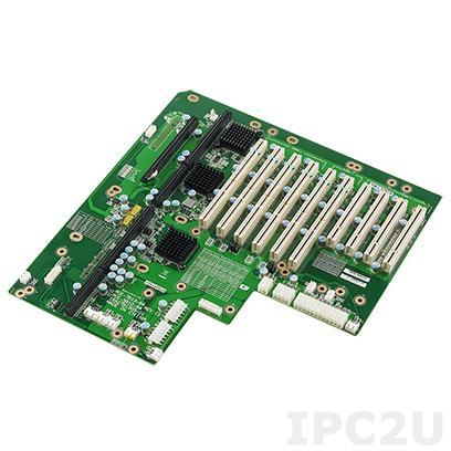 PCE-5B12-64C1E Объединительная плата PICMG 1.3, 12 слотов, 1xPICMG 1.3, 4xPCI, 1xPCIe x16, 6xPCI-X