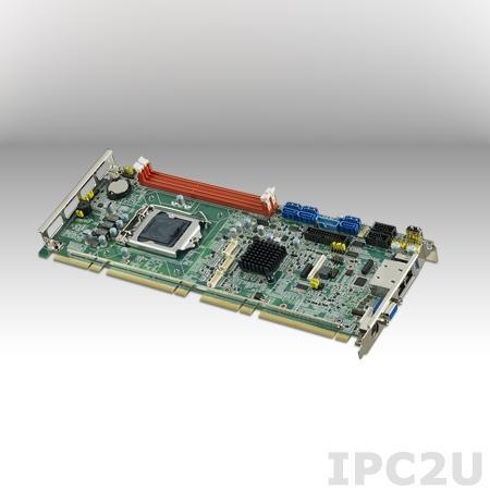 PCE-7128G2-00A1E Процессорная плата PICMG, сокет LGA1150 для Intel XeonE3-1200v.3/Core i7/i5/i3 с DDR3, VGA, DVI, 2xGbE LAN, 2xCOM, 3xUSB 3.0, 10xUSB 2.0, 6xSATA III