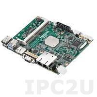 "MIO-5350N-S1A1E Процессорная плата формата 3.5"" Intel Celeron N3350 2.4 ГГц, 1xDDR3L SODIMM, VGA, HDMI/DP, LVDS/eDP, 2xLAN, 4xCOM, 4xUSB, 1xMini PCIe, mSATA, M.2, Audio"