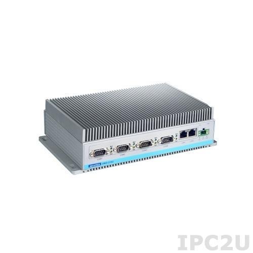 UNO-2182-D13BE Встраиваемый компьютер c Intel Core 2 Duo L7400 1.5ГГц, 2Гб RAM, VGA/DVI-I, 2xGb LAN, 4xCOM, CF, HDD, Audio, PCI-104
