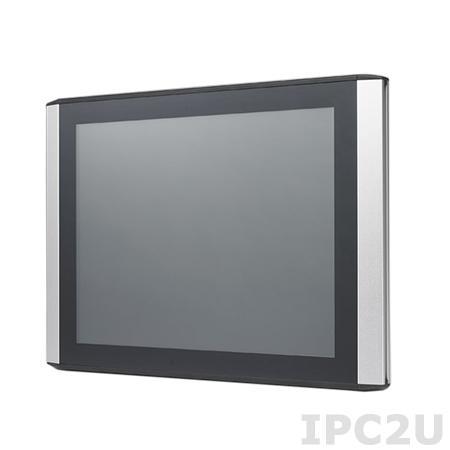 """ITM-5117R-MA1E 17"""" TFT LCD монитор с IP54 по передней панели, 1280х1024, резистивный сенсорный экран, передняя панель из ударопрочного пластика (ABS), VGA, DVI, вход питания 12В DC"""