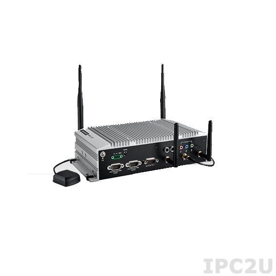 """ARK-2121V-S9A1E Компактный компьютер c Intel Atom E3845 1.91 ГГц, до 8ГБ DDR3L 1333, VGA, HDMI, 2xGb LAN, 4xLAN PoE, 6xDI & 2xDO(3K), 4xUSB, GPS, G-sensor, 4xmPCIe, Audio, отсек для 2.5"""" SATA, 9...36В DC"""