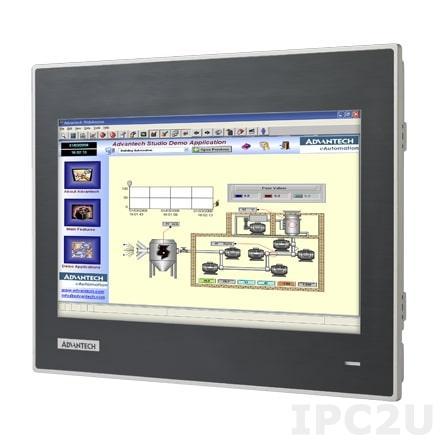 "WOP-3100T-C4BE Панель оператора с 10.1"" WSVGA TFT LCD, IP66 по передней панели, процессор ARM Cortex A8 600МГц, 256Мб RAM, LAN, 3xCOM, CAN, Windows CE 6.0, -20...+60C, 24VDC-in"