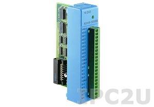 ADAM-5055S-AE Модуль ввода-вывода, 8 каналов дискретного ввода с изоляцией, 8 каналов дискретного вывода с изоляцией