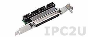 PCL-10503-AE Переходник с 2 разъемов IDC-20 на DB-37, до 50В