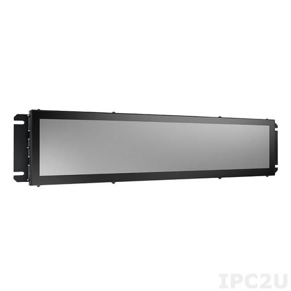 "ARS-P2800-30A1E Панельный компьютер для транспорта 28"" TFT LCD, Intel Celeron J1900 2 ГГц, DDR3 SO-DIMM 4 Гб , 64 Гб mSATA SSD, GB LAN, 1xUSB 2.0 M12, 1xUSB 2.0, питание 72 В DC M12, IP54, -25...+55C"
