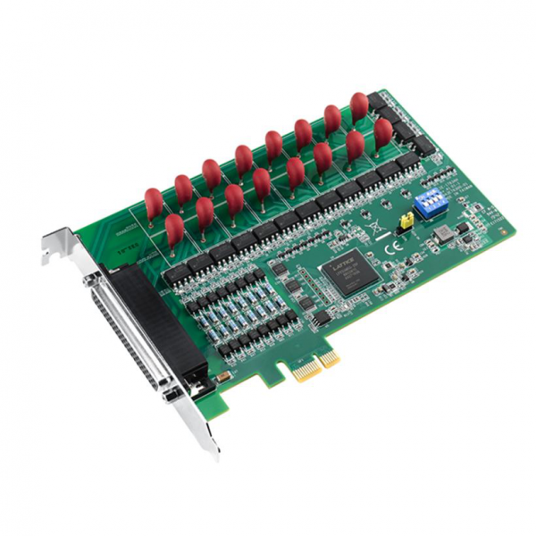 PCIE-1763DH-AE Плата ввода-вывода PCI Express, 16DI, 16 реле 60VDC@1.2A