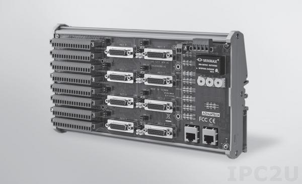 AMAX-3285IO-AE Модуль ввода-вывода Ethercat, 16 каналов дискретного ввода, 16 каналов дискретного вывода, 8 осей, изоляция 2500VRMS