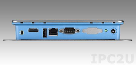 UBC-310DL-MDA1E Встраиваемый компьютер, Freescale ARM Cortex-A9 i.MX6 1ГГц, 1Гб DDR3, 4Гб eMMC Flash, HDMI Full HD, 1xGB LAN, 1xCOM, 1xUSB, SD слот, Audio, SUSIAccess