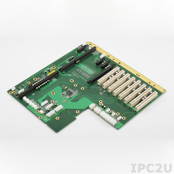 PCE-5B13-08A1E Объединительная плата PICMG 1.3, 13 слотов, 1xPICMG 1.3, 8xPCI, 1xPCIe x16, 3xPCIe x1