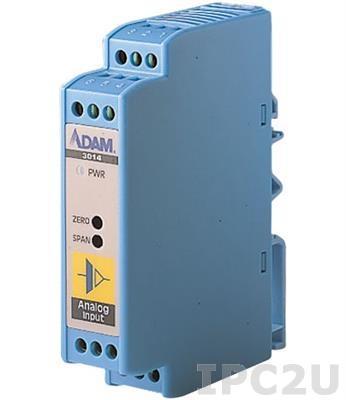 ADAM-3014-AE Двунаправленный модуль нормализации аналоговых сигналов с гальванической изоляцией