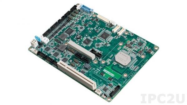 PCM-9563N-S1A2 Процессорная плата формата EBX с Intel Apollo Lake Celeron N3350, VGA/LVDS/HDMI, 2x GbE, 8x USB, 1x SATA, mSATA, Audio, 1x Mini PCIe, 1x M.2 E key, 6x COM, 12VDC-in