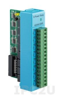 ADAM-E5069-AE 8-канальный модуль релейного вывода, EtherCAT