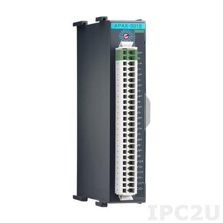 APAX-5018-AE Модуль ввода, 12 каналов аналогового ввода сигнала с термопары