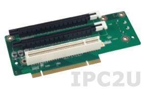 AIMB-RP3P8-12A1E Объединительная Riser плата 2xPCIex8, 1xPCI, для корпусов 2U