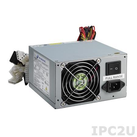 PS8-400ATX-ZE Источник питания PS/2 ATX переменного тока 400Вт, RoHS