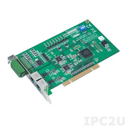 PCI-1202U-AE Universal PCI адаптер 2xAMONet Master, 8DI, 4DO